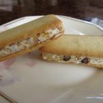 ロイヤル鹿児島空港売店 - 鹿児島白くまどんのサンドクッキー