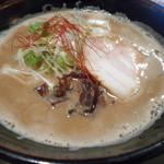 トリイザカヤ 麺 コヤ麺 - 鶏白湯らぁ麺 720円