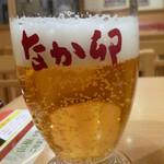 なか卯 - ドリンク写真:缶ビール