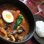 ダッチオーブン - 料理写真:チキン野菜きのこカレー(1,050円)