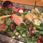 ステラ - 野菜畑な前菜はこれだけで一日30品目(*・∀・*)ノ♥♥