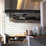 イエロー カフェ - バーガー用鉄板