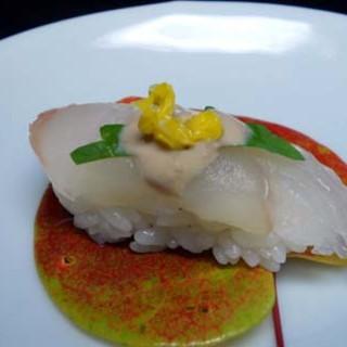 瀬戸内の天然物の魚を使い、心を込めてつくるお料理とおすし!
