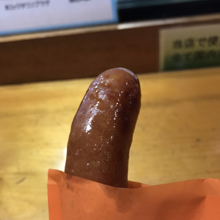 道の駅 ロック・ガーデンひちそう - 料理写真:明方ハム醤油フランク