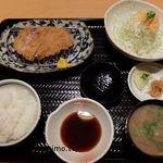 どんと  - 料理写真:愛媛豚とんかつ 80gミニサイズ