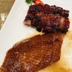 御宝轩 - 料理写真:上海ダックと叉焼