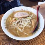 みそまる麺次郎 - 柴田玄米味噌らーめん ¥770