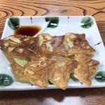 みそまる麺次郎 - サービス券の焼きワンタン