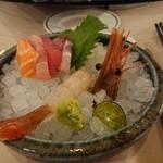 真的好海鮮餐廳 - 料理写真:刺身の盛り合わせ