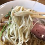 98922308 - 北海道産超強力粉「ゆめちから」を使用した「自家製ストレート麺」