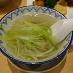 牛たん炭焼  利久 - (2018/10月)スープ