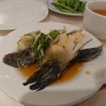 Dragon Restaurant - 白身魚の清蒸