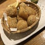 居酒屋 善乃膳 - 大根と里芋の唐揚げ