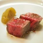 オステリア ルーチェ - 北海道アンガス牛ウチモモのロースト