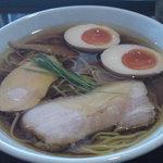 麺や 元町 - 味玉醤油ラーメン