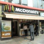 マクドナルド - 九段下駅5番口出てすぐ