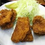 ニコニコ亭 - ソースカツ定食のソースカツ(2枚分)
