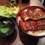宇奈とと - うな丼ダブルセット(ご飯大盛り)