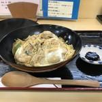 豊福 - 今回は、牡蠣メニュー3発目、かき丼です(2018.12.23)
