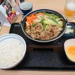 吉野家 - 料理写真:2018年12月 牛すき鍋膳