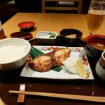 98936458 - 寒ブリ塩焼き定食(税込み1600円)