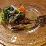 エビバル×肉×チーズ 海老monster - 車海老のカルパッチョ