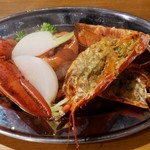 エビバル×肉×チーズ 海老monster - オマール海老のトマトソースグリル