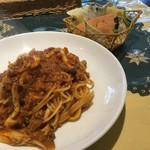カフェバベット - パスタとパン