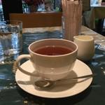 カフェバベット - 食後に紅茶