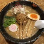 ことり舟 - 料理写真:味噌ラーメン(税込800円)