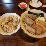 沖縄食堂 きたやま - きたやまそばとじゅーしー