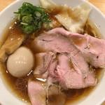 中華そば ココカラサキエ - 特製鶏そば (´∀`)/