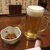 居酒屋 北の酒林 - 料理写真:生ビールとお通し