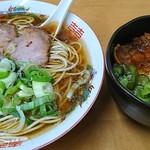ら~めん山家 - 料理写真:ランチサービス Aセット