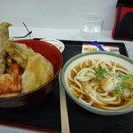 9895188 - 加賀野菜天丼セット
