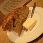 ボルシチに合わせたパン