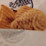 鳴門鯛焼本舗 - さつまクリーム餡200円がコンニチハ♪