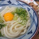めん屋 - 料理写真:釜玉うどん