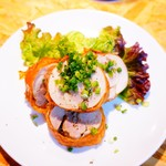 BAK Brewery - 鶏モモの巻揚げ(唐揚)