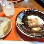 とうふ屋うかい - 焼きゴマ豆腐