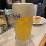 龍味 - 生ビール420円