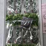 なかや売店 - 料理写真:箱を開けると…1包装 (3本入り)×8本入り