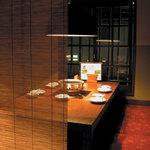 蔵家菊亭 - 落ち着いた雰囲気の店内で、カップルにもおすすめ