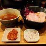 98963840 - 暴れ海老の踊りつけ麺