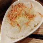 いかれたヌードル フィッシュトンズ - 暴れ海老の踊りつけ麺-追い飯