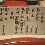 Fukamachi - お酒は お高め( ̄▽ ̄;)