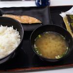 吉野家 - 焼魚定食 450円