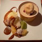 ゴロシタ - バニラアイスと紅茶のパンナコッタ