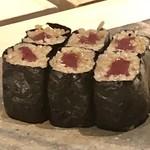 菊鮨 - 追加で「鉄火巻」