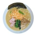 麺や ハレル家 - ピリ辛ねぎ醤油